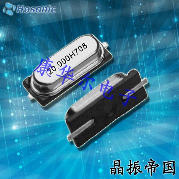 鸿星晶振,贴片晶振,E49B晶振,E49B16E00000KE晶振