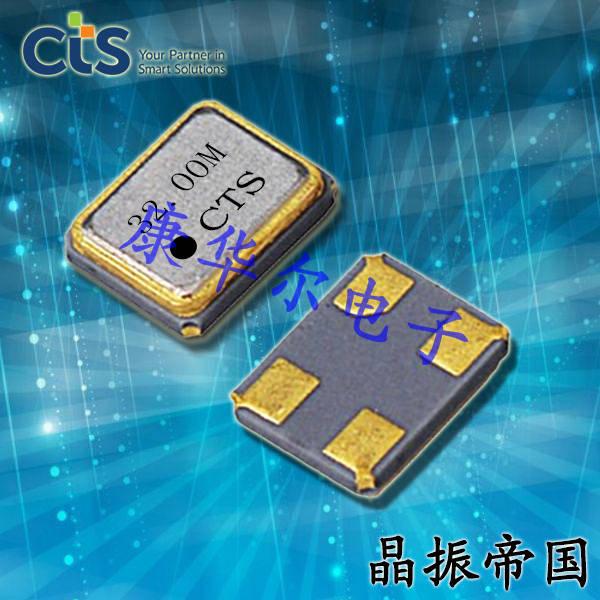 CTS晶振,贴片晶振,402晶振,402F2401XIAR晶振