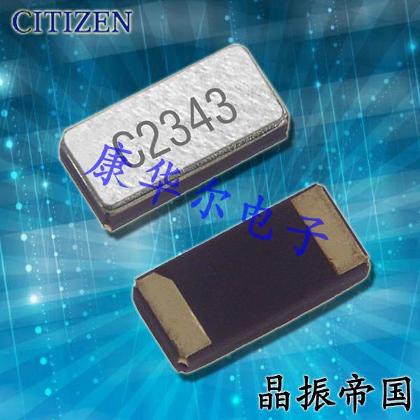 西铁城晶振,石英晶振,CM2012H晶振,CM2012H32768DZFT晶振