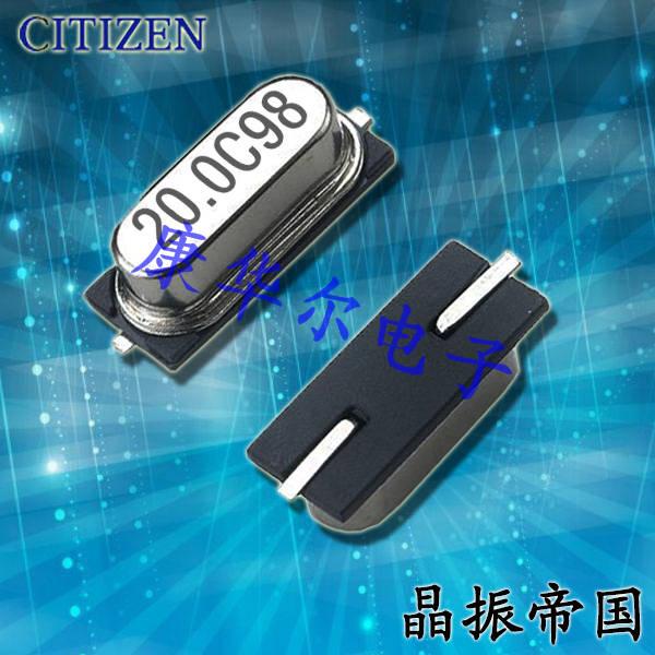 西铁城晶振,贴片晶振,HCM49晶振,HCM4911059200CCNT晶振
