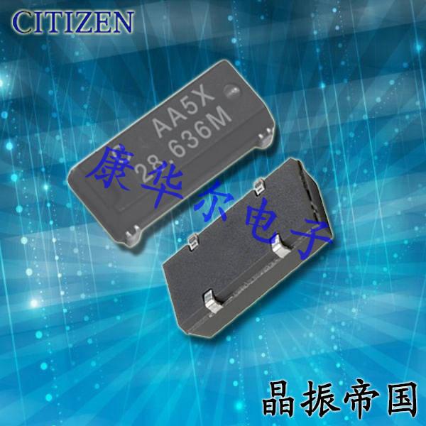西铁城晶振,插件晶振,CM309E晶振,CM309E4000000BBAT晶振