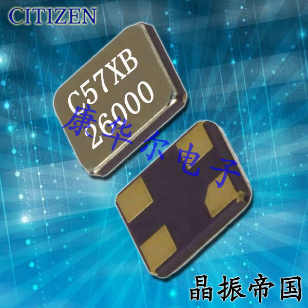 西铁城晶振,贴片晶振,CS325S晶振,CS325S24000000EEQT晶振