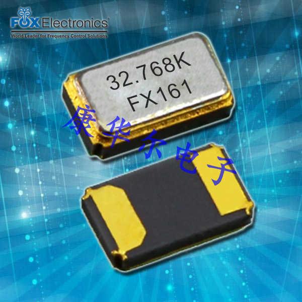 FOX晶振,贴片晶振,K161晶振,F-K161-E-I-H-M-0.032768 晶振