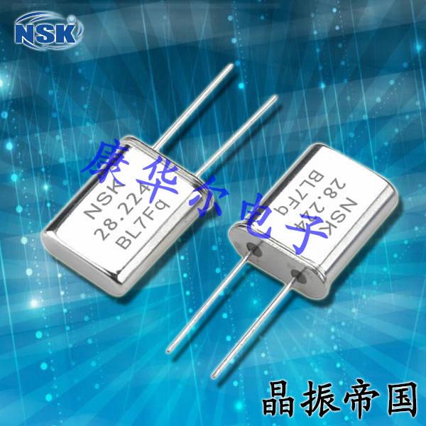 NSK晶振,插件晶振,NXU HC-49/U晶振,台产智能家居晶振