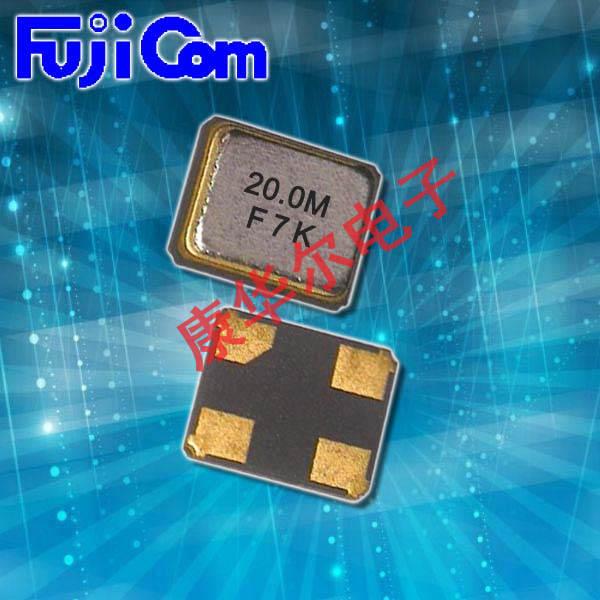 富士晶振,贴片晶振,FSX-1M晶振,智能穿戴晶振
