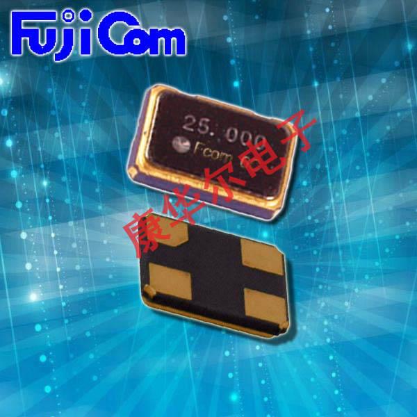 富士晶振,贴片晶振,FSX-5M晶振,日本进口晶体