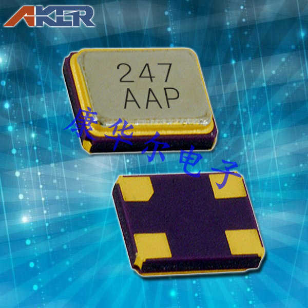 AKER晶振,贴片晶振,CXAN-211晶振,四脚无源晶振