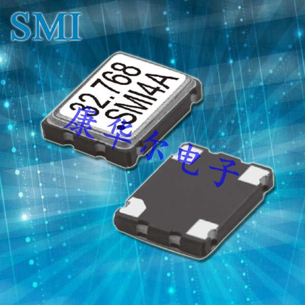 SMI晶振,有源晶振,327SMO(G)晶振,低功耗7050晶振