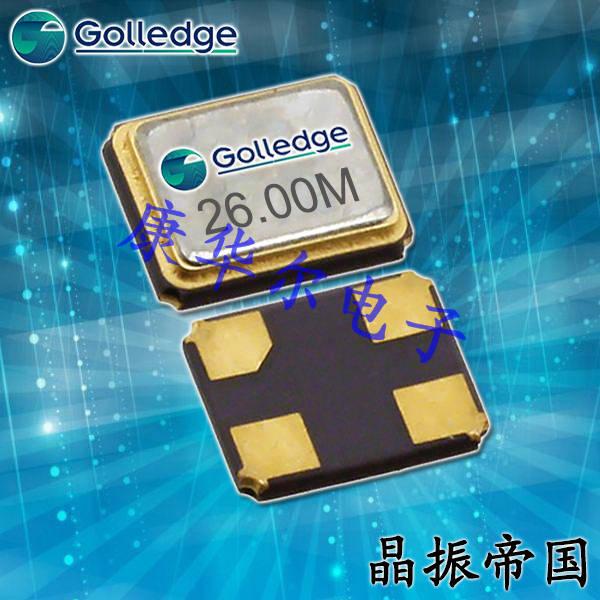 Golledge晶振,贴片晶振,GRX-220晶振,无线蓝牙晶振