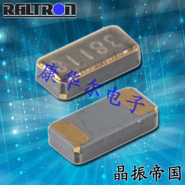 Raltron晶振,贴片晶振,RT4115晶振,无源石英晶振