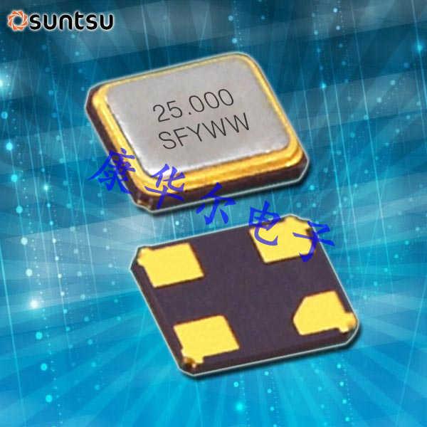 SUNTSU晶振,贴片晶振,SXT324晶振,无铅晶振