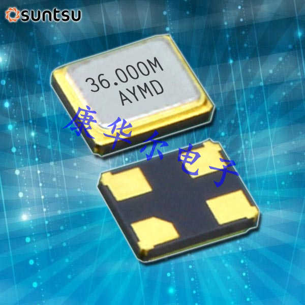 SUNTSU晶振,贴片晶振,SXT114晶振,进口蓝牙晶振