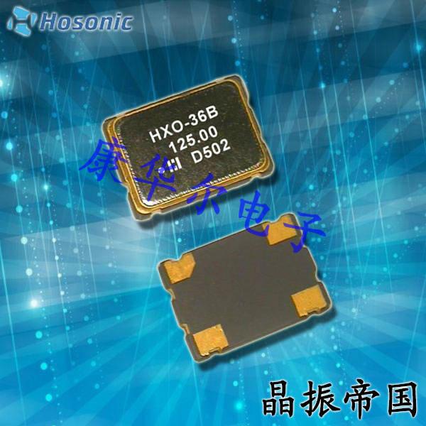 鸿星晶振,D5SX晶振,HXO-5晶振,带电压晶振
